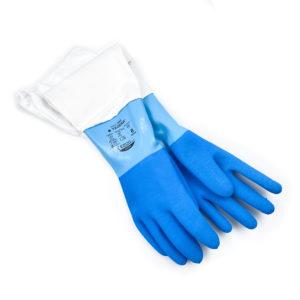 Handske blå