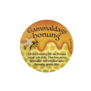 Etikett gammeldags honung 100st
