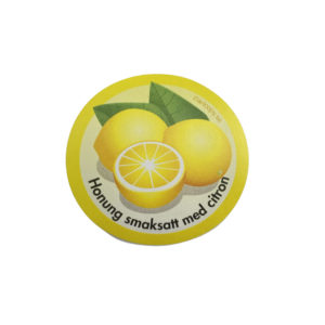 Etikett citron honung 100st