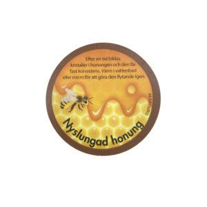 Etikett nyslungad honung 100st